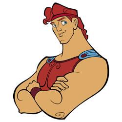 Hercules De Griekse Held Kleurplaten Kleurplatenpagina Nl