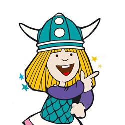 wickie de viking kleurplaten kleurplatenpagina nl